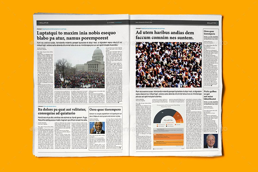 Newspaper Template Indesign Free Best Of Indesign Newspaper Template 5 Columns by Sacvand