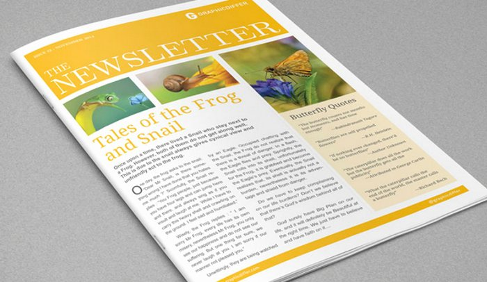 Newspaper Template Indesign Free Fresh 4 Adobe Indesign Newsletter Templates