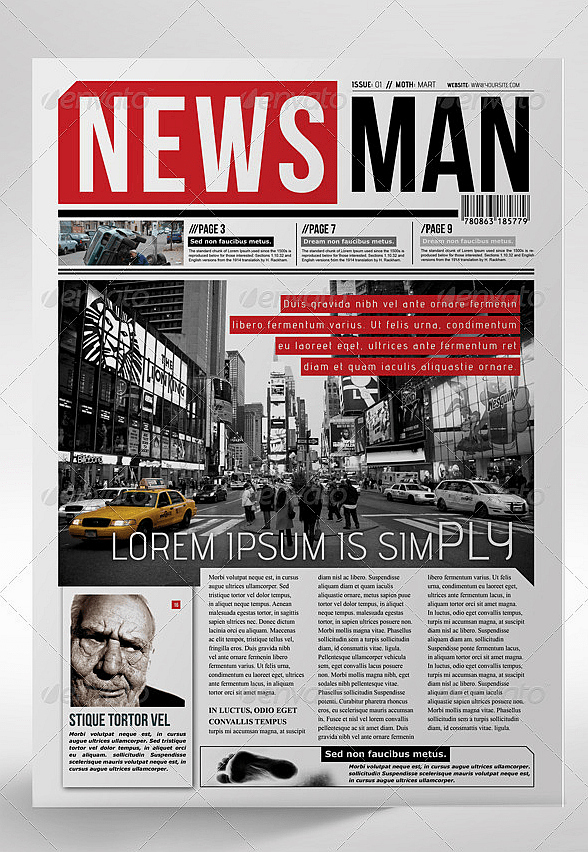 Newspaper Template Indesign Free Inspirational 30 Professional Indesign Newspaper Templates