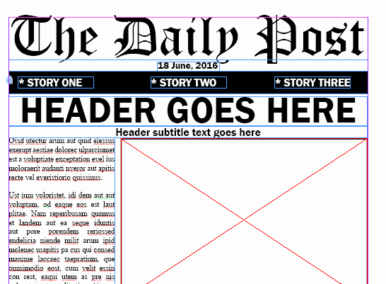Newspaper Template Indesign Free Inspirational Adobe Indesign Newspaper Templates