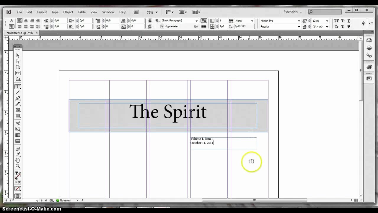 Newspaper Template Indesign Free Inspirational Basic Adobe Indesign Newspaper Template