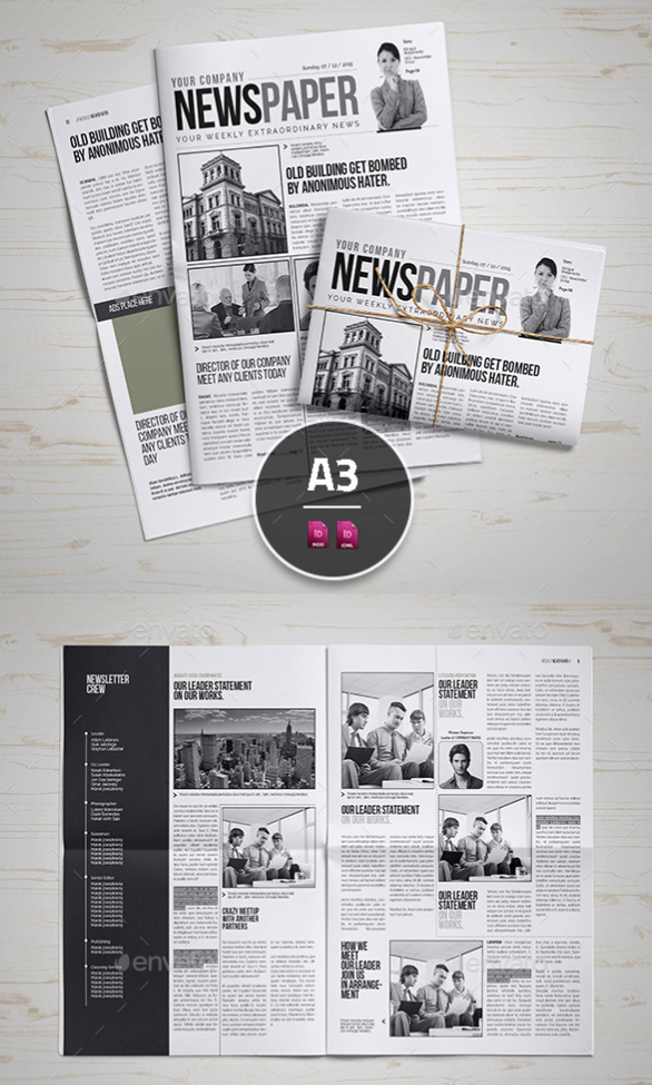 Newspaper Template Indesign Free New 15 Best Indesign Newspaper Templates 2016 Tutorial Zone
