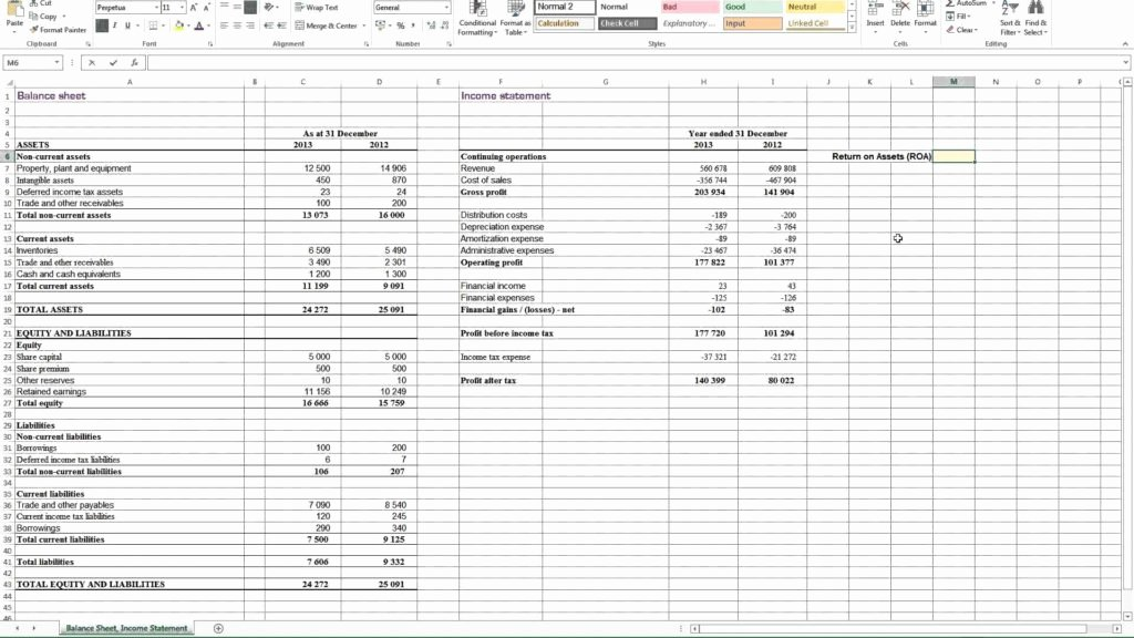 Non Profit Balance Sheet Template Awesome Non Profit Balance Sheet Template and Calculating Return
