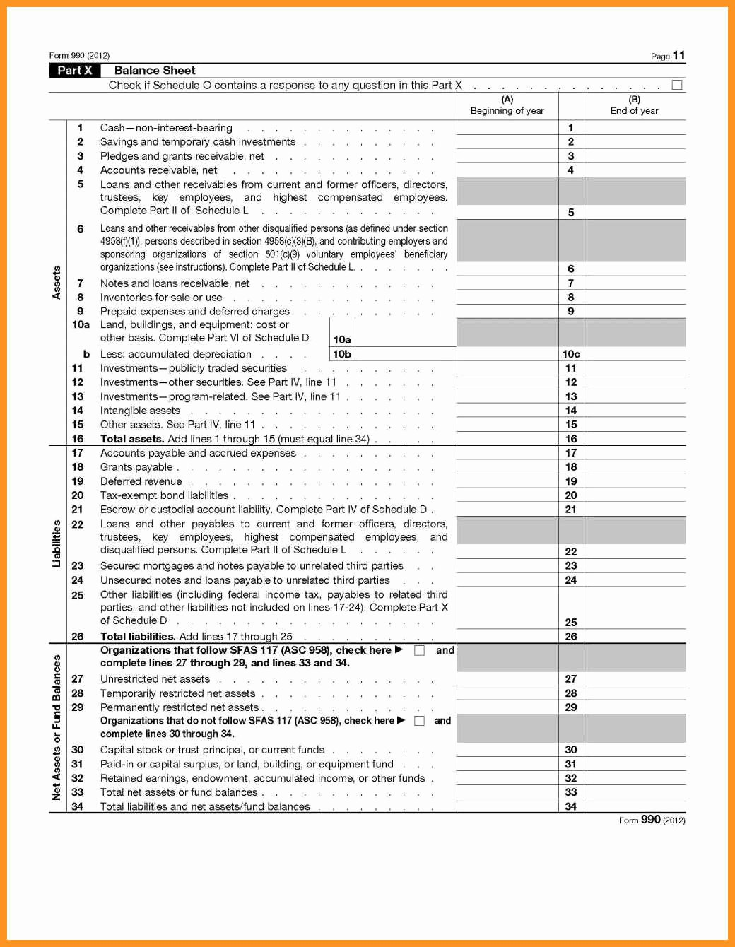 Non Profit Balance Sheet Template Luxury 9 10 Non Profit Balance Sheet Template