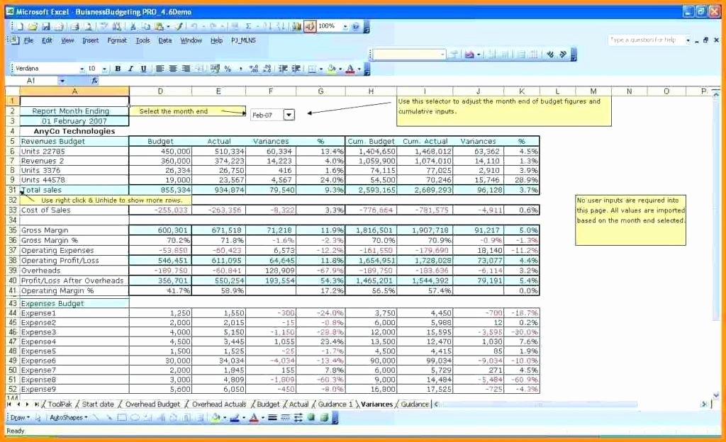 Non Profit Budget Template Excel New A Sample Bud Spreadsheet Business Template Excel Free