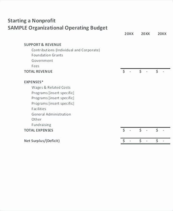 Non Profit Budget Template Inspirational 25 Best Ideas About Bud Templates On Pinterest