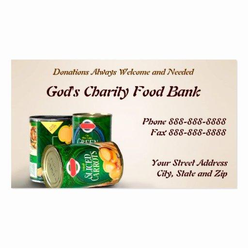 Non Profit Donation Card Template Beautiful Donation Business Card Templates