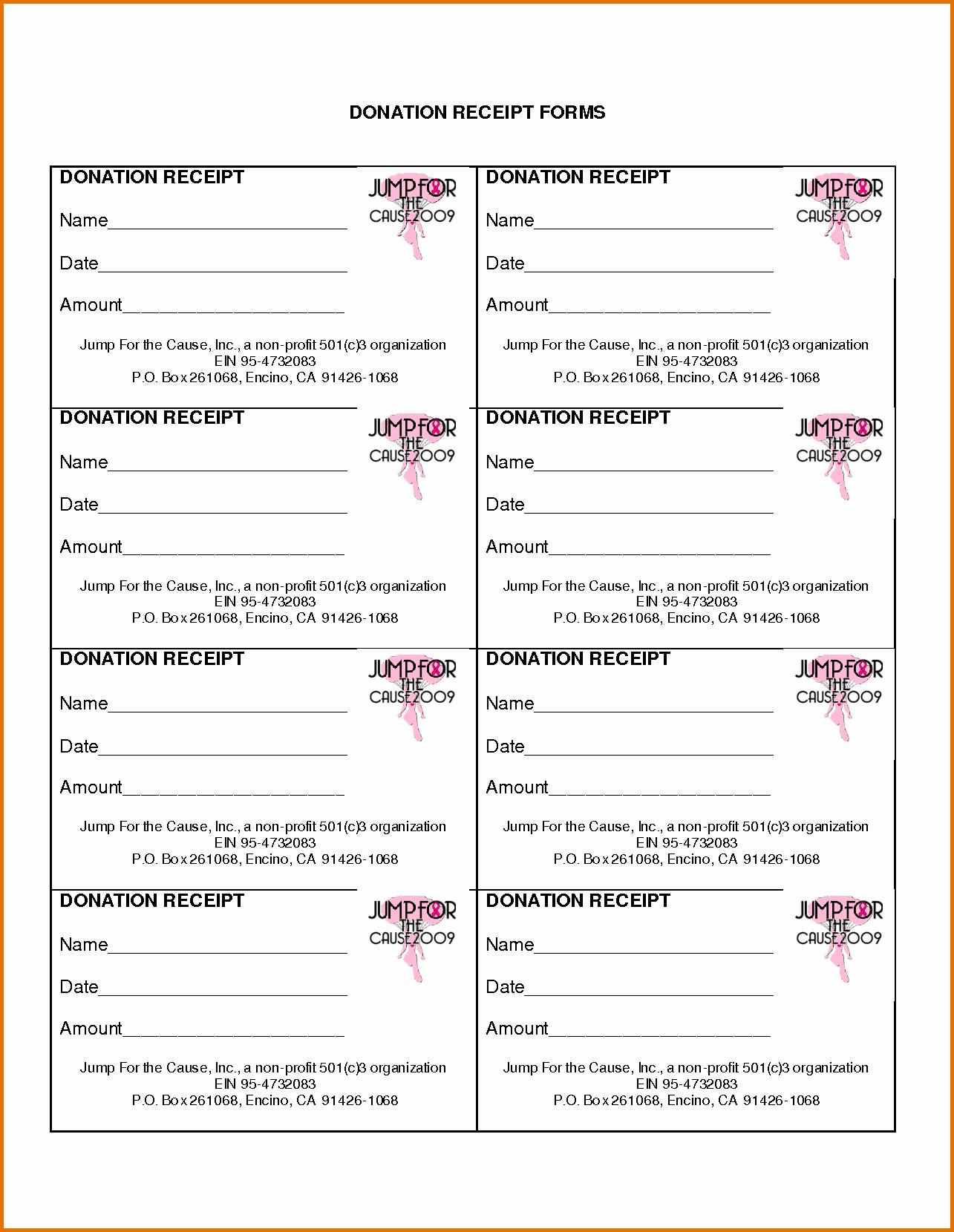 Non Profit Donation Card Template Elegant Non Profit Donation Receipt Templatereference Letters