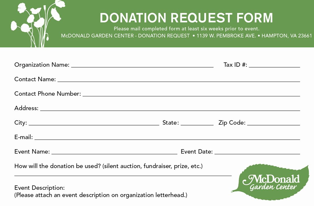 Non Profit Donation Card Template Luxury 6 Donation form Templates Excel Pdf formats