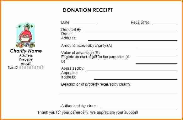 Non Profit Donation Receipt Template Awesome 5 Non Profit Donation Receipt Example
