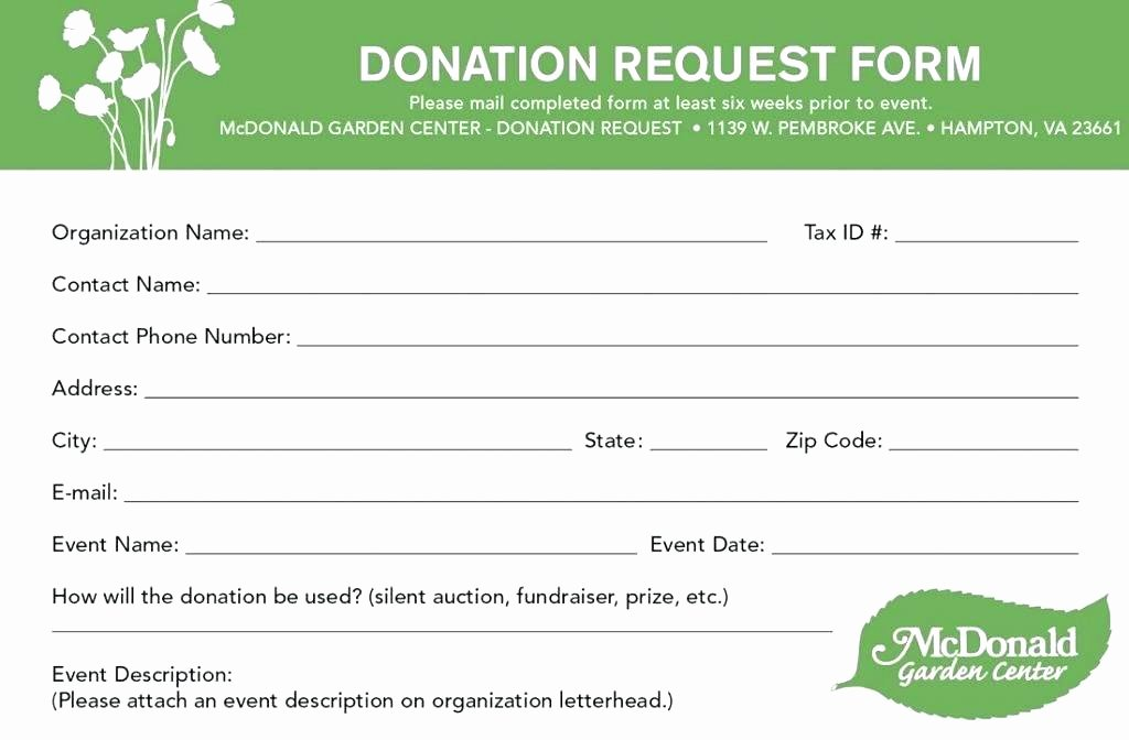 Non Profit Donation Receipt Template Awesome Template for Silent Auction Donation form – Bleachbathfo
