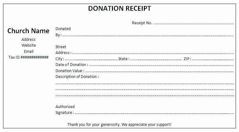 Non Profit Donation Receipt Template Lovely Non Profit Contribution Receipt Template Gift Non Profit