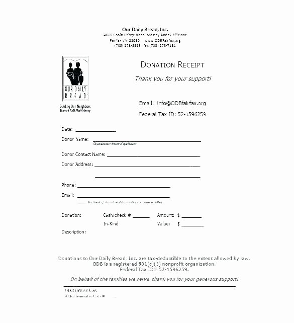 Non Profit Donation Receipt Template Lovely Non Profit Donation Request form Template Unique Templates
