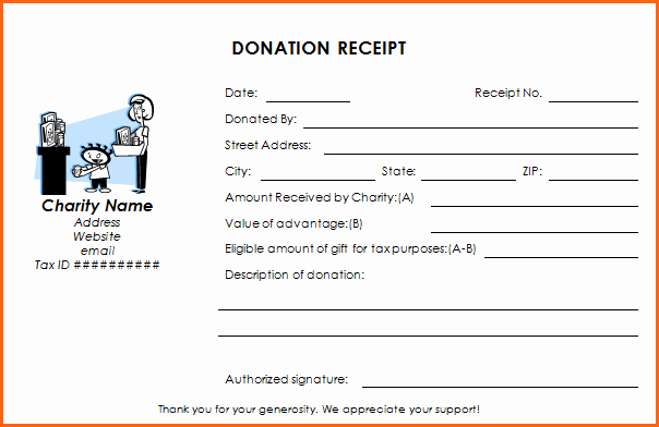 Non Profit Donation Receipt Template Unique Ultimate Guide to the Donation Receipt 7 Must Haves & 6