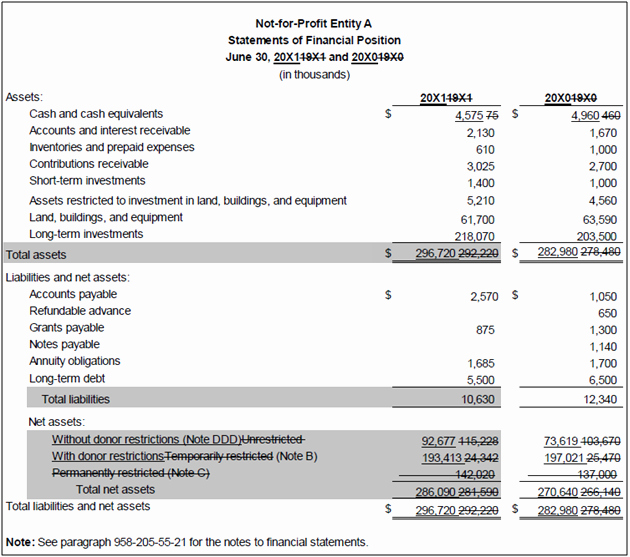 Non Profit Financial Statement Template Luxury Template for Financial Statement Presentation How to