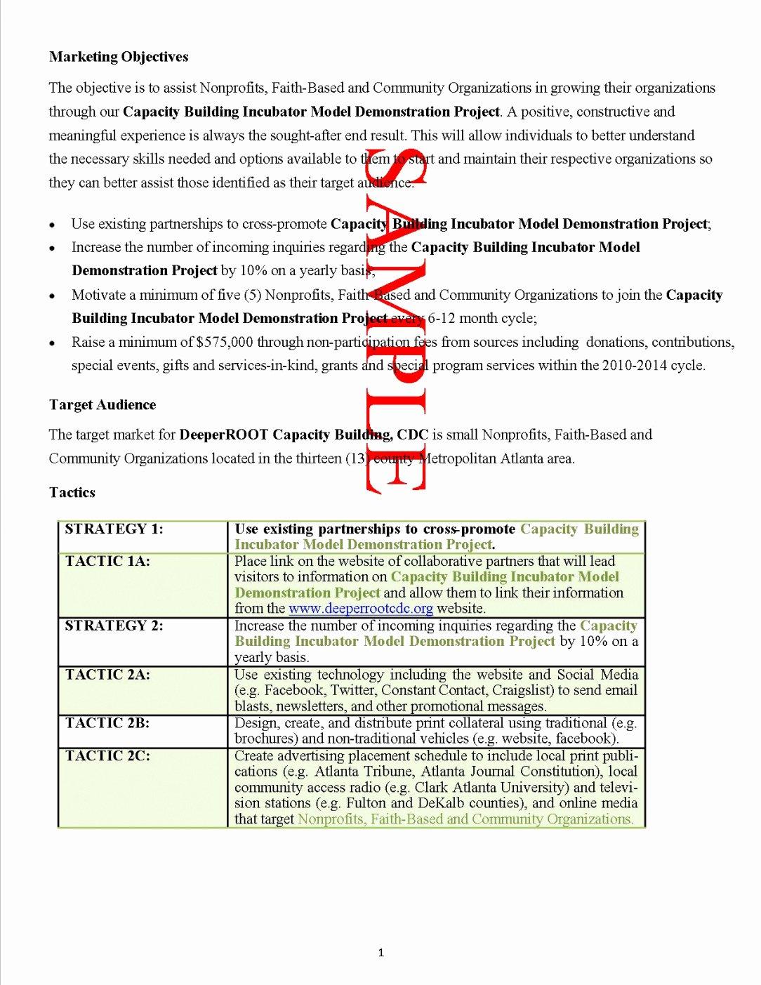 Non Profit Proposal Template Best Of Best Grant Proposal format Template Proposal