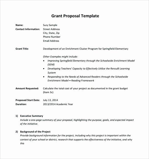 Non Profit Proposal Template Best Of Non Profit Proposal Template – Buildingcontractor