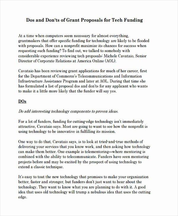 Non Profit Proposal Template Inspirational 8 Non Profit Proposal Examples & Samples Doc Pdf