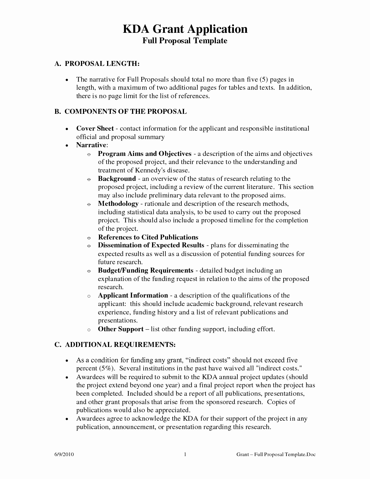 Non Profit Proposal Template Luxury 10 Best Of Non Profit Proposal Template Non