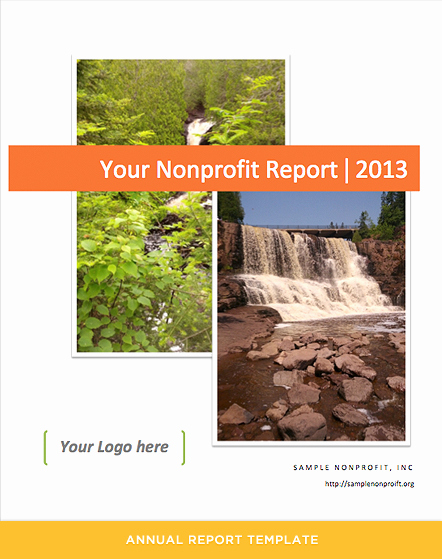 Nonprofit Annual Report Template Free Awesome Annual Report Template for Nonprofits