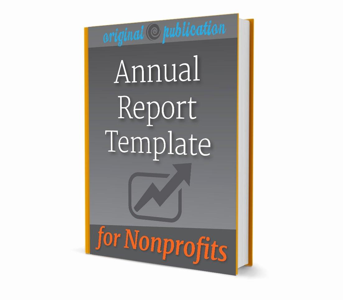 Nonprofit Annual Report Template Free Beautiful Nonprofit Annual Report Template