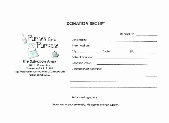 Nonprofit Donation Receipt Template New 10 Nonprofit Donation Receipt Template