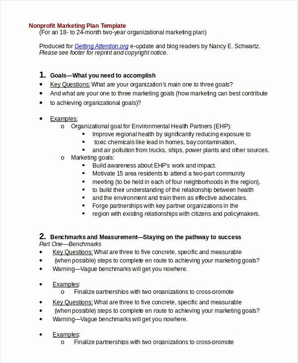 Nonprofit Marketing Plan Template Unique Non Profit bylaws Template Free Accraconsortium