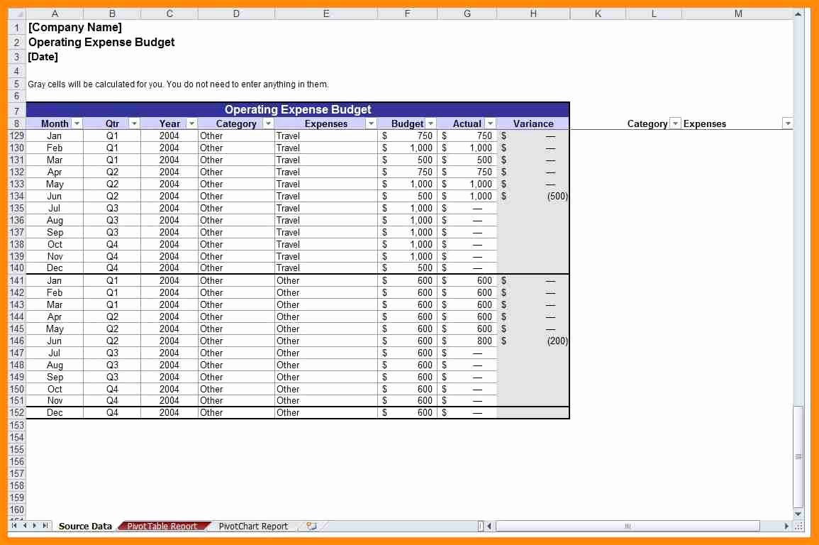 Nonprofit Operating Budget Template Lovely Non Profit Bud Template
