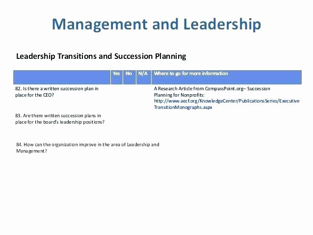 Nonprofit Succession Planning Template Fresh Nonprofit Succession Planning Template Nonprofit