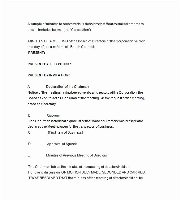 Notice Of Board Meeting Template Best Of Notice Of Board Meeting Template – Shopsapphire