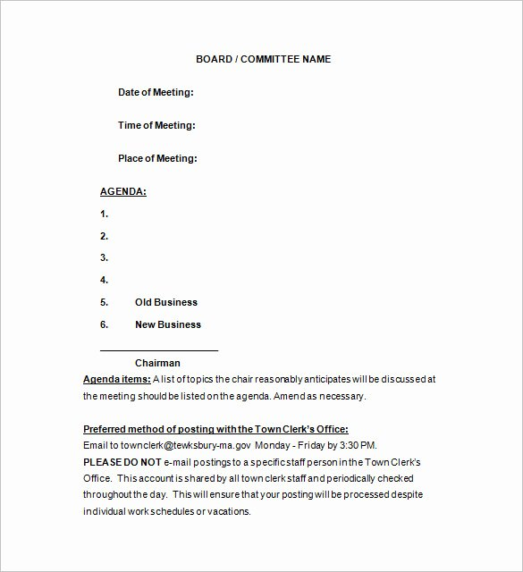 Notice Of Board Meeting Template Inspirational 15 Notice Of Meeting Templates Pdf Doc Xls