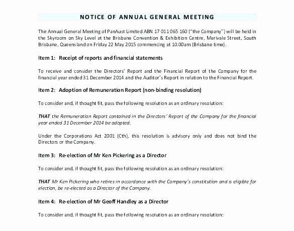 Notice Of Board Meeting Template Lovely Notice Meeting Template Notice Disciplinary Meeting