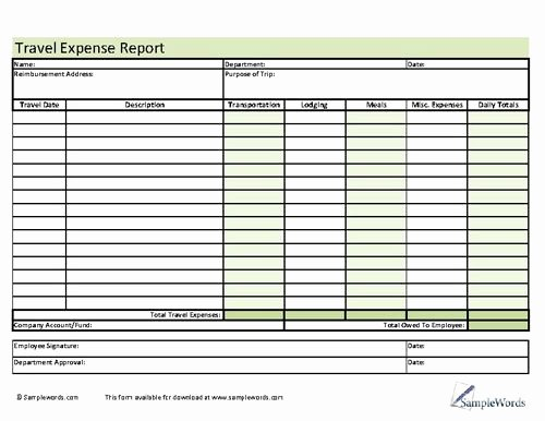Numbers Expense Report Template Beautiful 78 Best Images About Business forms On Pinterest