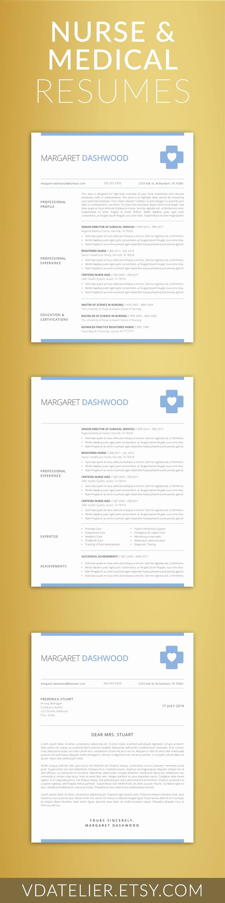 Nurse Resume Template Word Beautiful 25 Best Ideas About Nursing Resume On Pinterest