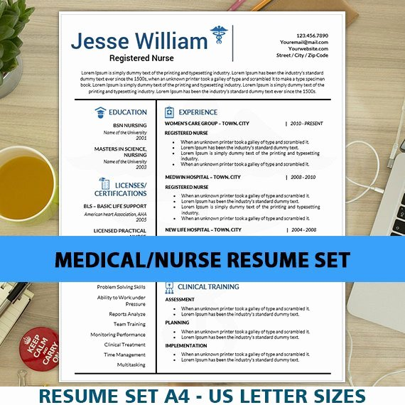 Nurse Resume Template Word Inspirational Nursing Resume Template for Ms Word Cover Letter Nurse
