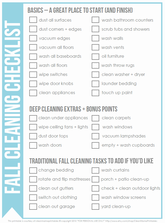 Office Cleaning Checklist Template New 8 Best Of Fice Cleaning List Printable