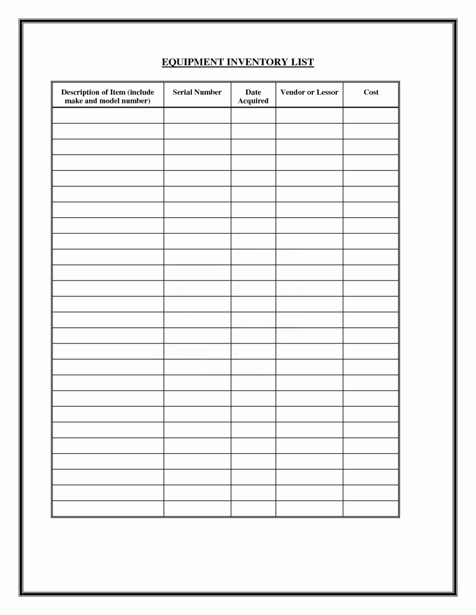 Office Supply Checklist Template Awesome Fice Supply List Template