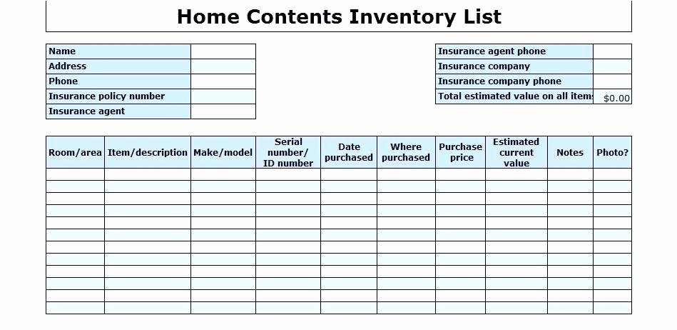 Office Supply Checklist Template Excel Awesome Office Inventory Template – Chaseevents