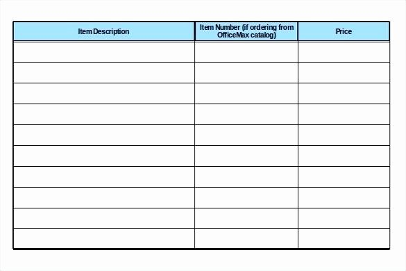 Office Supply Checklist Template Inspirational Fice Supply List Excel Template Inventory Checklist