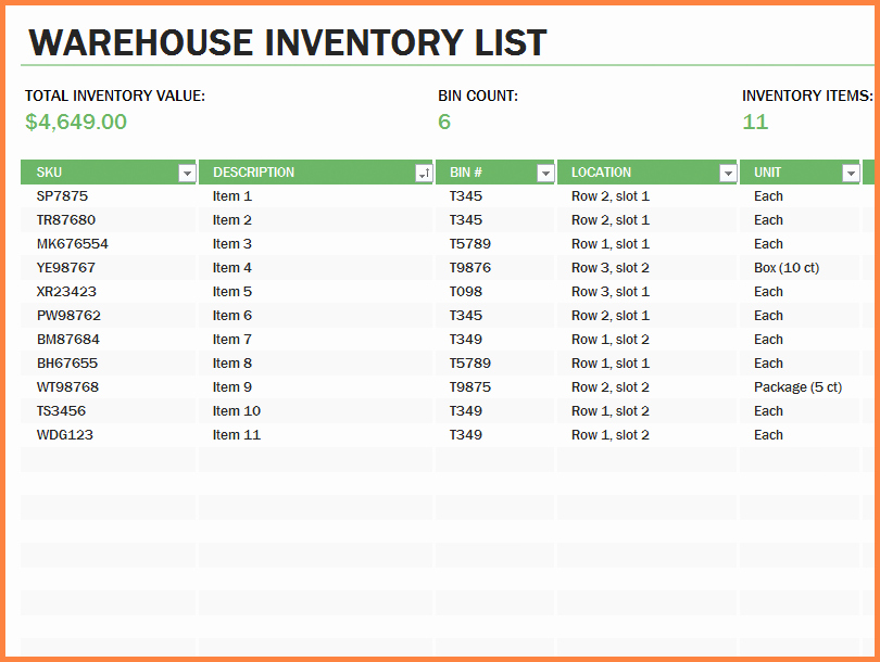 Office Supply Inventory List Template Awesome 10 Office Supply Spreadsheet