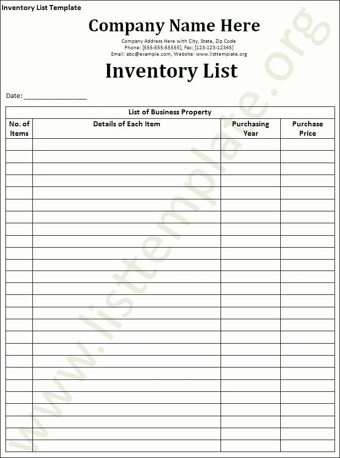 Office Supply Inventory Template New Office Inventory Template – Chaseevents