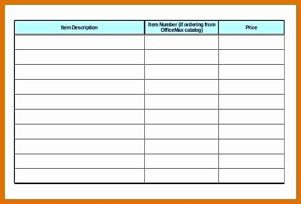 Office Supply List Template Best Of Fice Supplies List Printable Fice Supply List