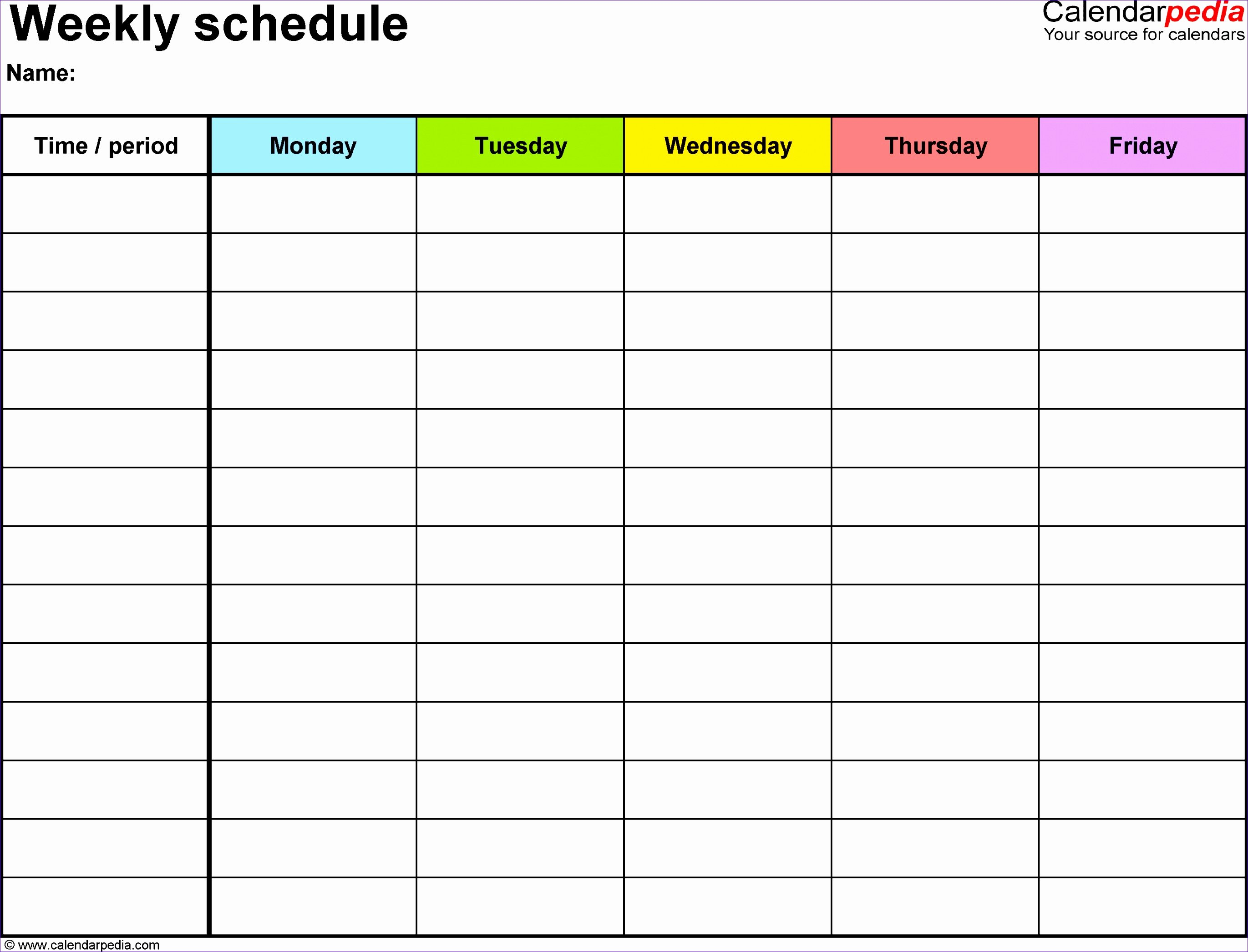 On Call Calendar Template Luxury 9 Call Schedule Template Excel Exceltemplates