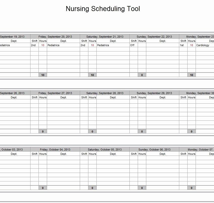 On Call Rotation Schedule Template Unique Call Schedule Template Beepmunk
