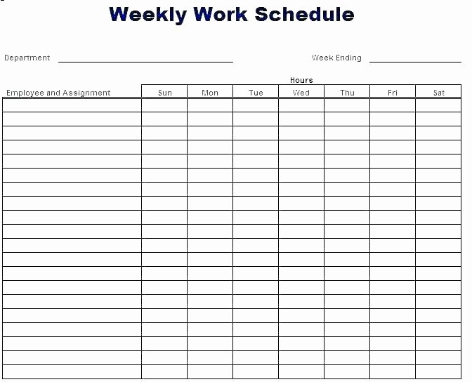 On Call Rotation Schedule Template Unique Call Schedule Template Work Roster Template Excel