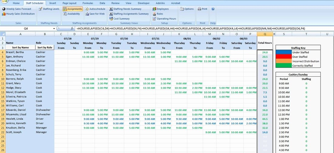 On Call Schedule Template Excel Awesome Excel Scheduling