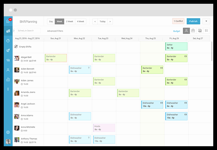 On Call Scheduling Template Inspirational Call Center Employee Scheduling software