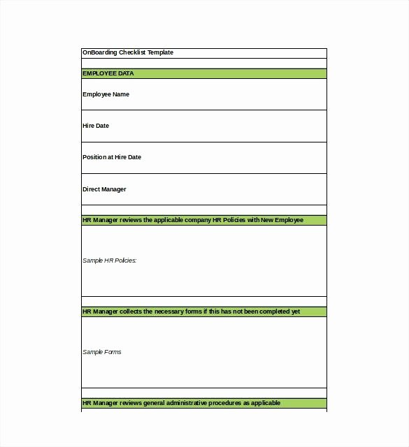 Onboarding Checklist Template Excel Beautiful Process Template Boarding Procedure Checklist Excel