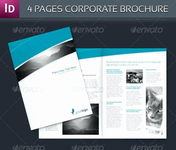 One Page Brochure Template Awesome E Page Brochure Template Free Oakvillefurniturestore