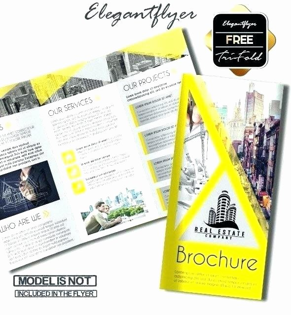 One Page Brochure Template Elegant Door Hanger Flyers Template for Word Fit Two In E Page